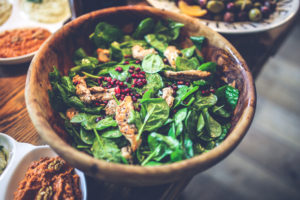 Autoimmunity - Healthy Food - Salad