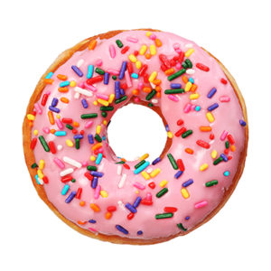 your gut is like a donut